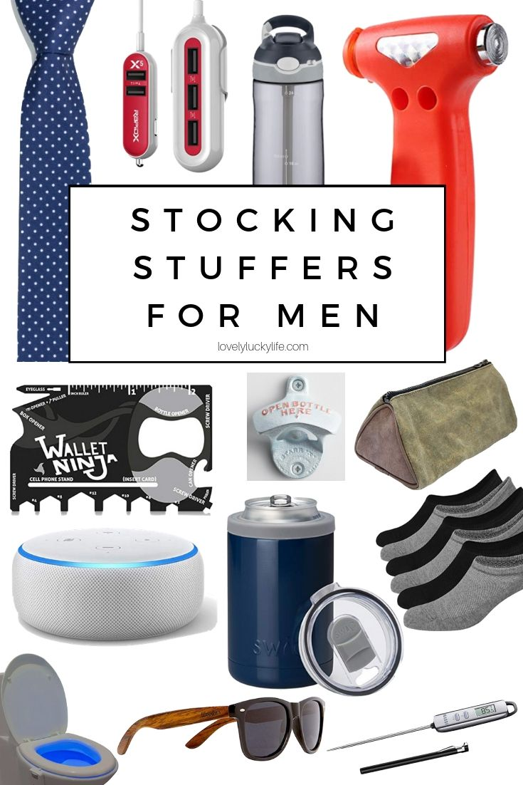 42 Great Christmas Gift Ideas for Him Stocking stuffers