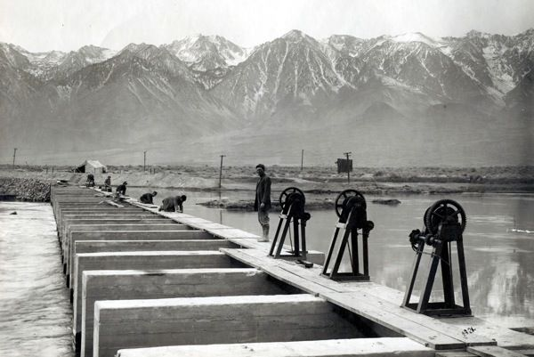 Los Angeles Aqueduct Construction Century Los Angeles History California History