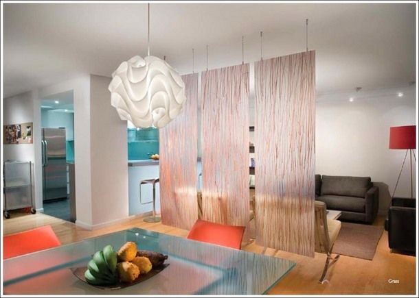 Furniture how to build a hanging room divider panels Contemporary room dividers ideas