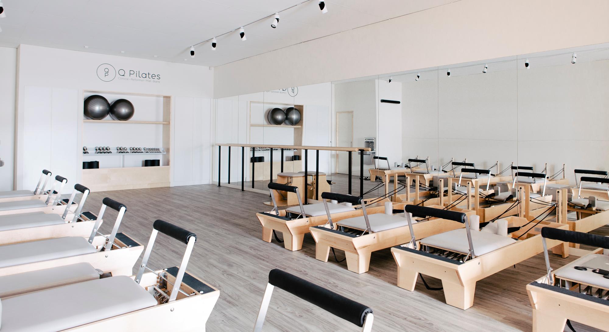 I like the room dividers Interior Design Pilates Studio | Marilena Rizou |  Projects | Mind & Body | Image 7 | Gym | Pinterest | Pilates studio, Body  images ...