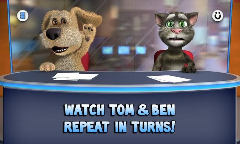 Free Download Talking Tom & Ben News Game Apps For Laptop Pc