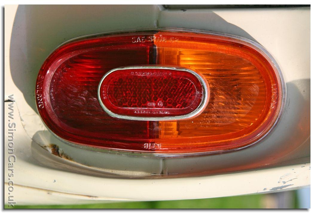 Vauxhall Viva HA lamp