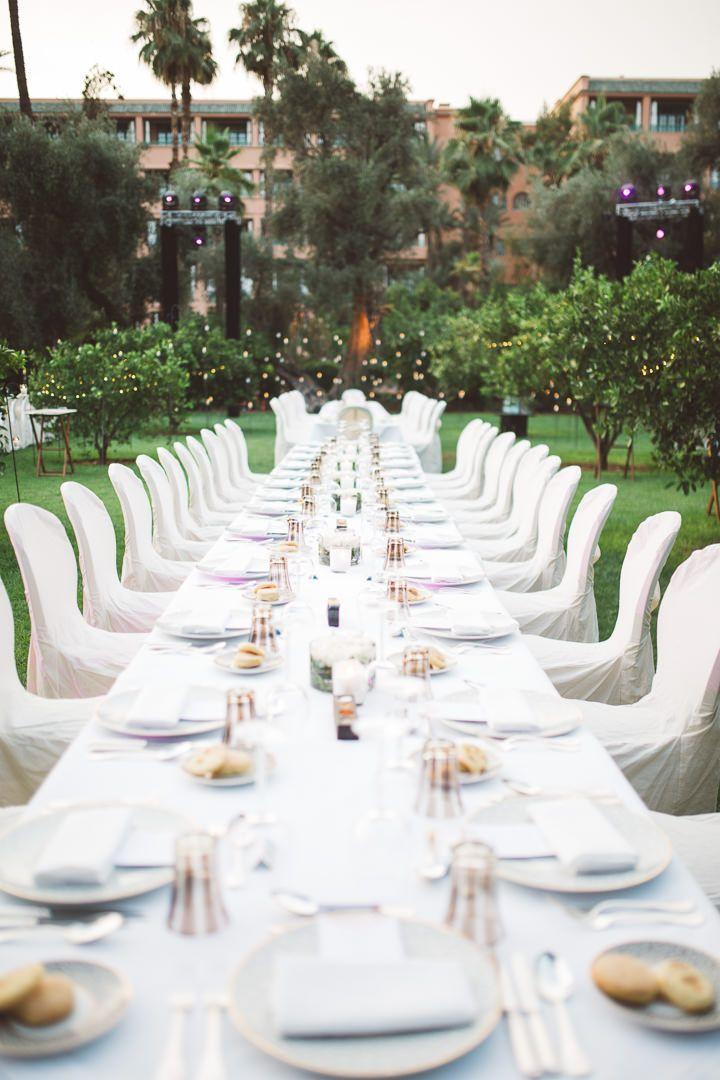 Tatum And Youssefs Elegant Garden Party Wedding In Marrakech By