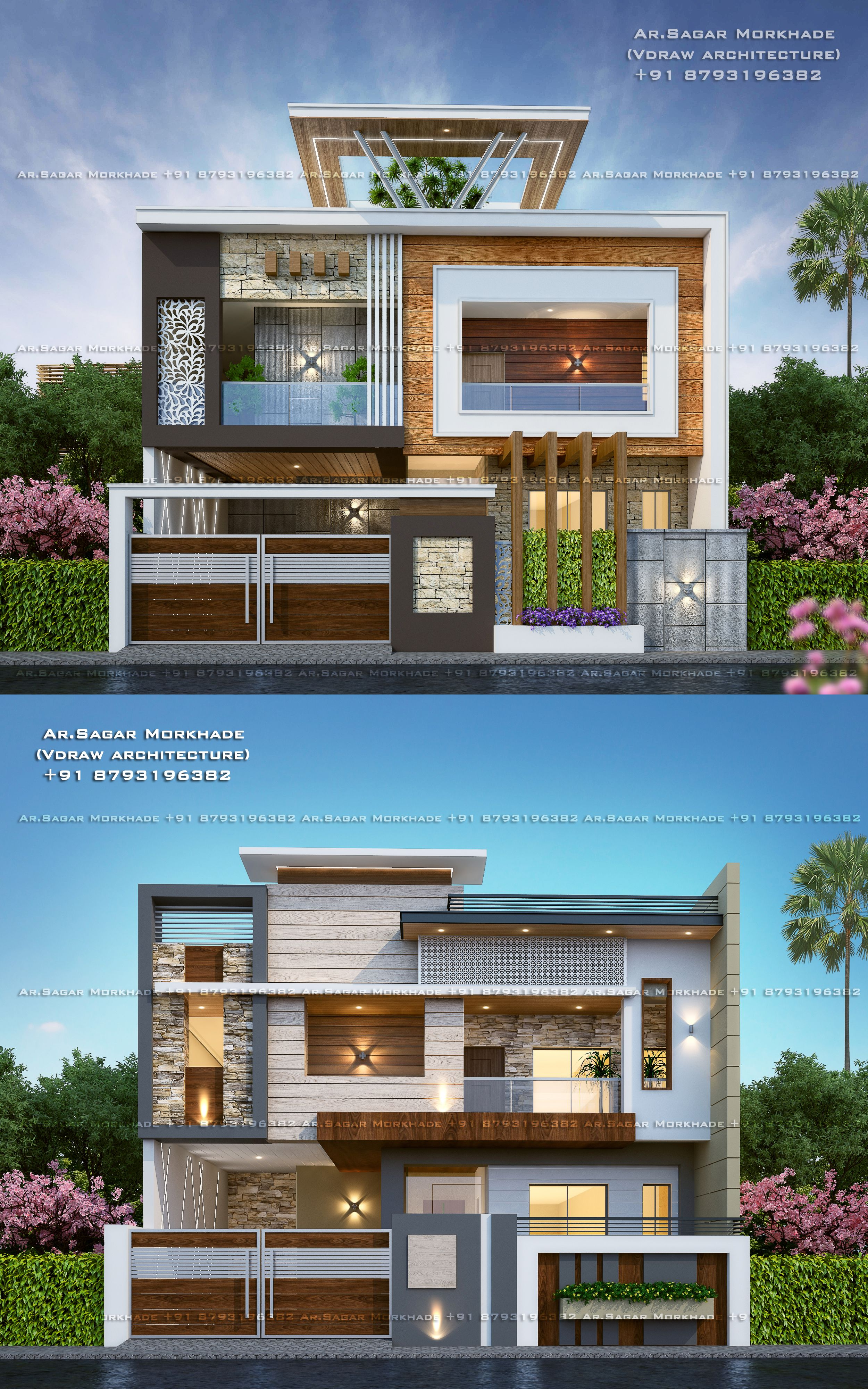 Contemporary Modern Residential House Bungalow Modern Architecture Exterior By A Modern Exterior House Designs House Design Pictures Dream House Exterior