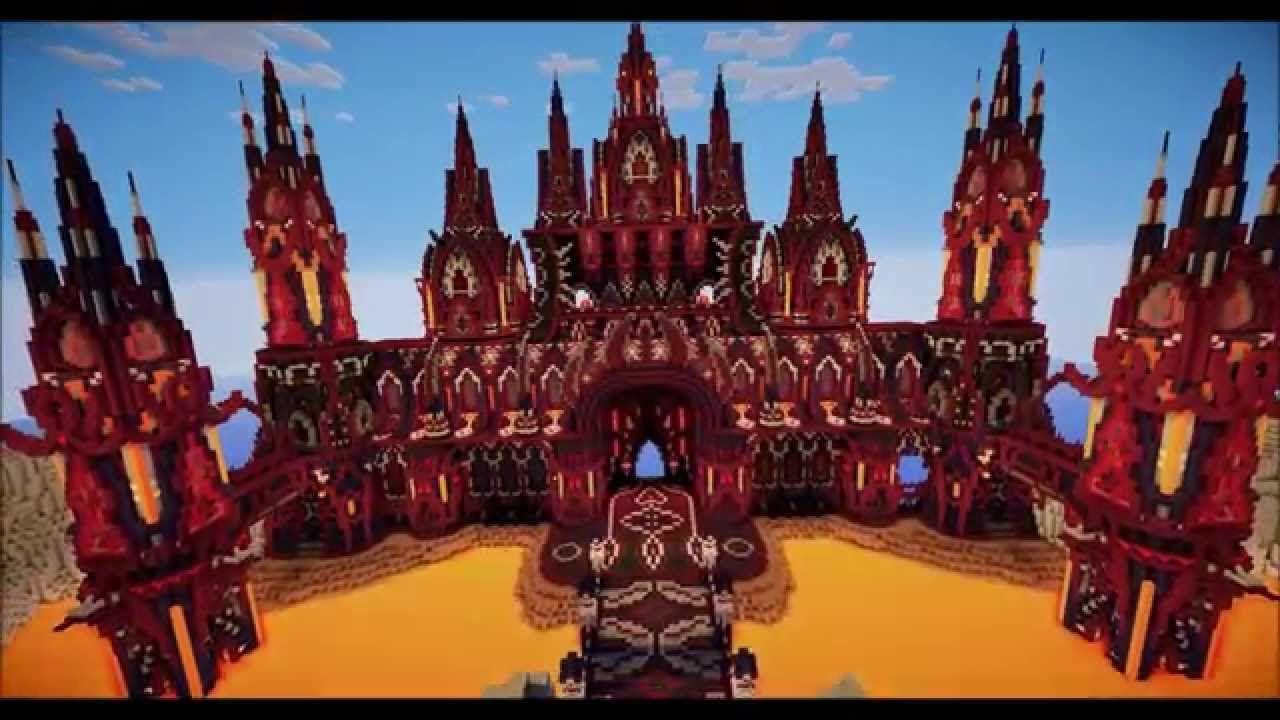 Minecraft Evil Castle Blueprints