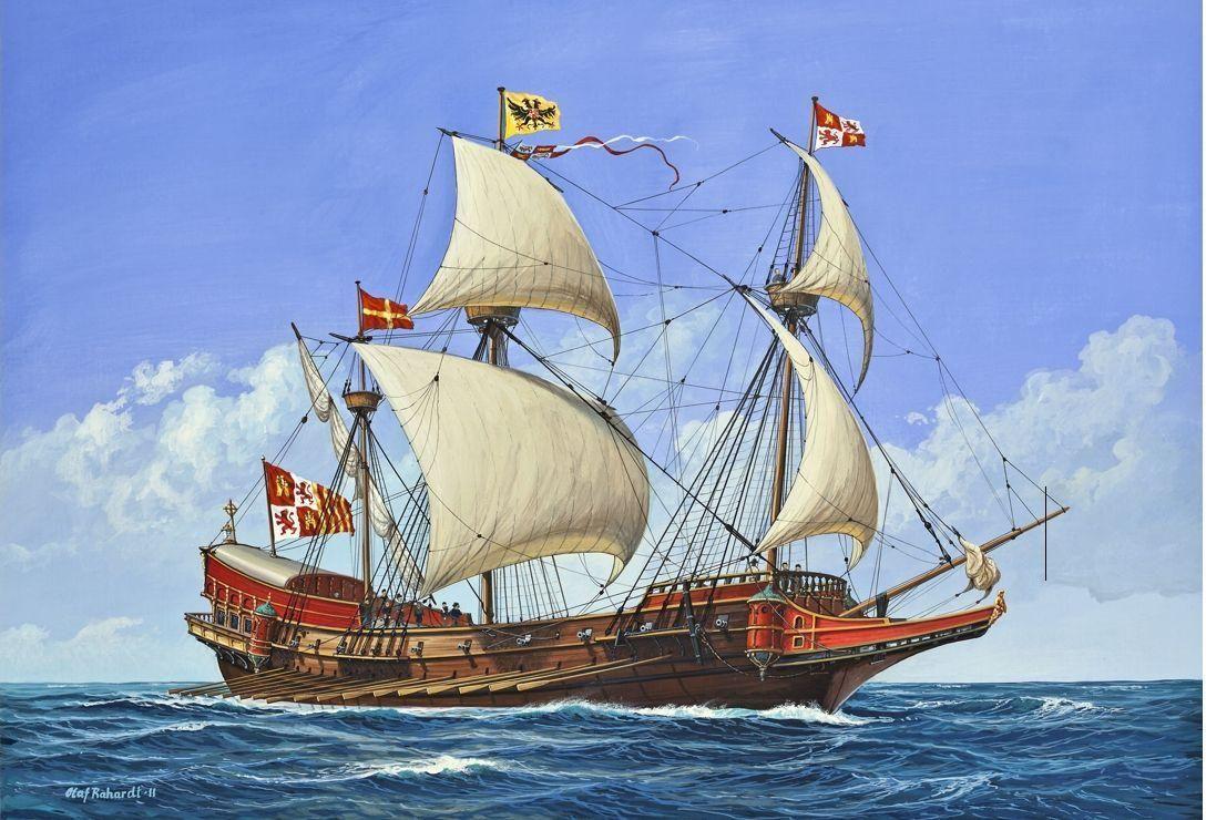 Spanish Galleass Renaissance Pinterest Sailing Ships Ship And Model Ships