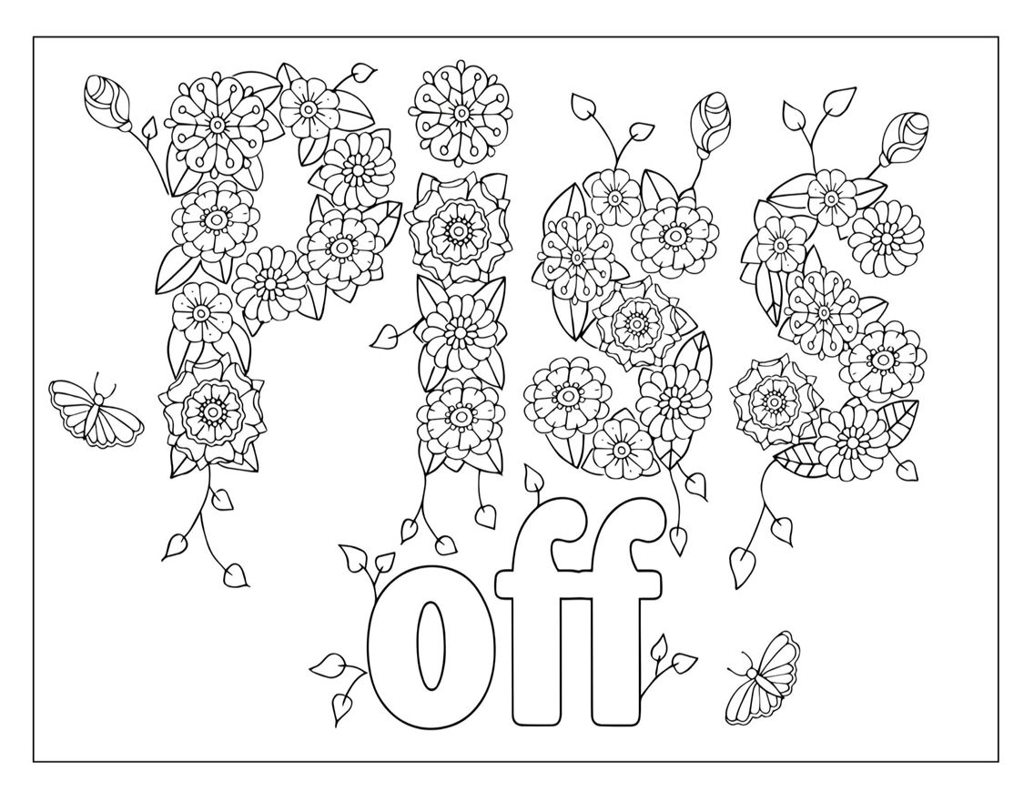 Sweary | Insect coloring pages, Printable coloring book ...