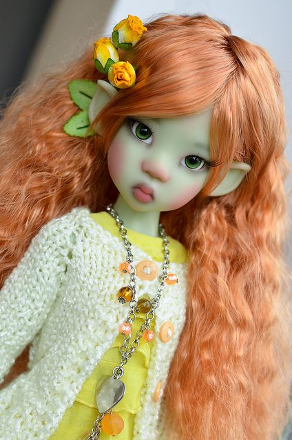 Kaye Wiggs Miki Green Elf | Flickr - Photo Sharing!