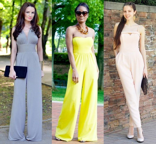 Wedding Guest Outfit with Jumpsuit | Things to Wear | Pinterest ...