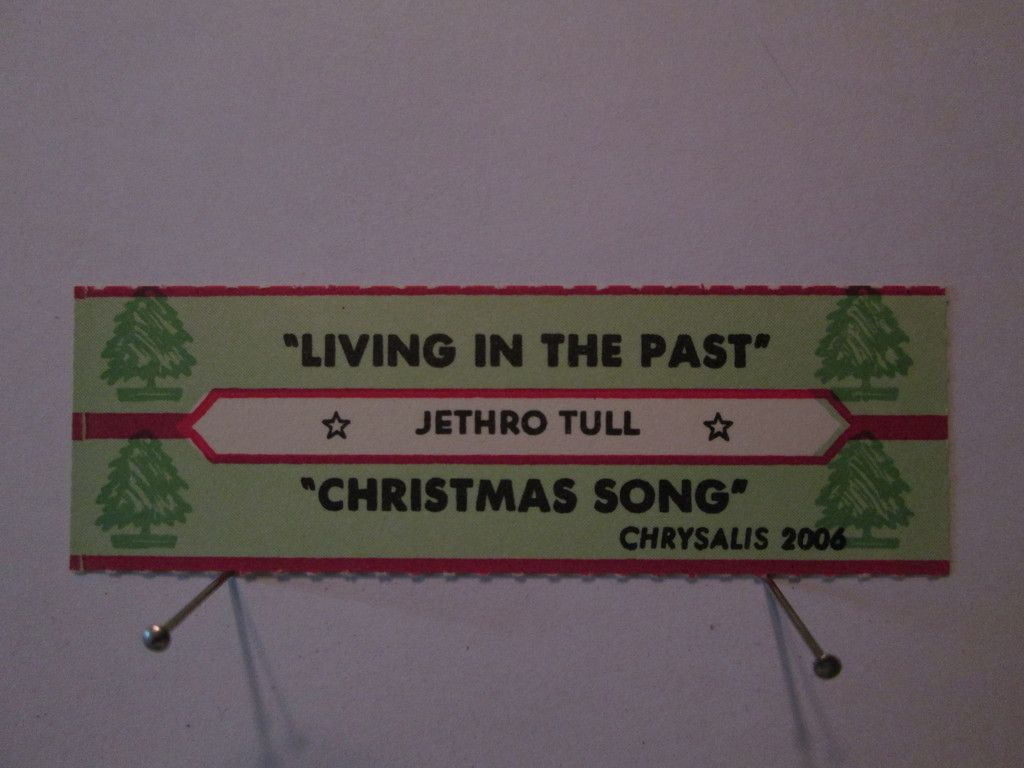 Jethro Tull - Living in the Past Christmas Song Orig Chrysalis ...