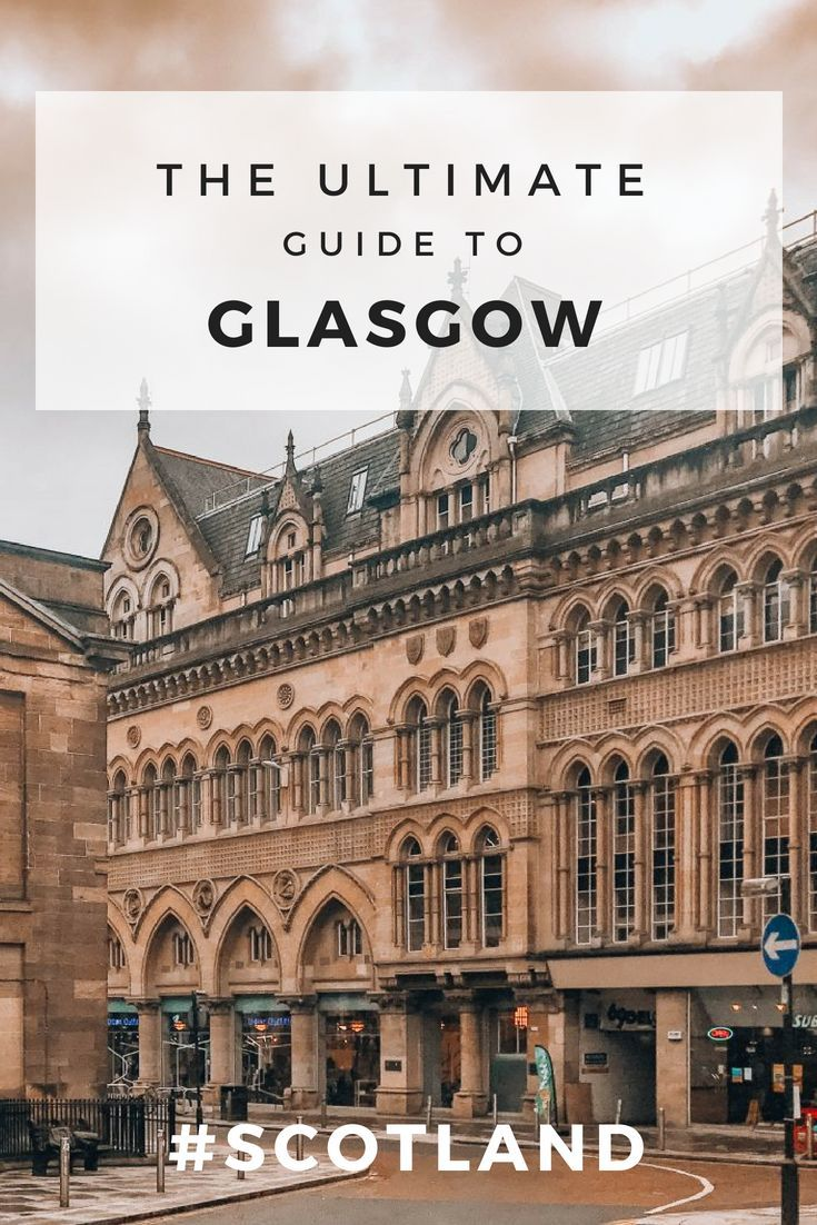 The foodie's guide to a weekend in Glasgow, Scotland. #travelscotland