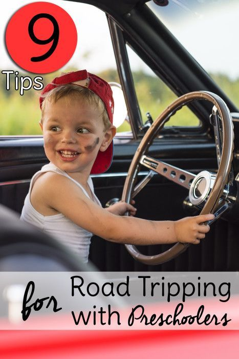 Traveling with preschoolers doesn't have to be a nightmare. Try these 9 traveling tips for travelling with kids by car and actually enjoy your next road trip with them!