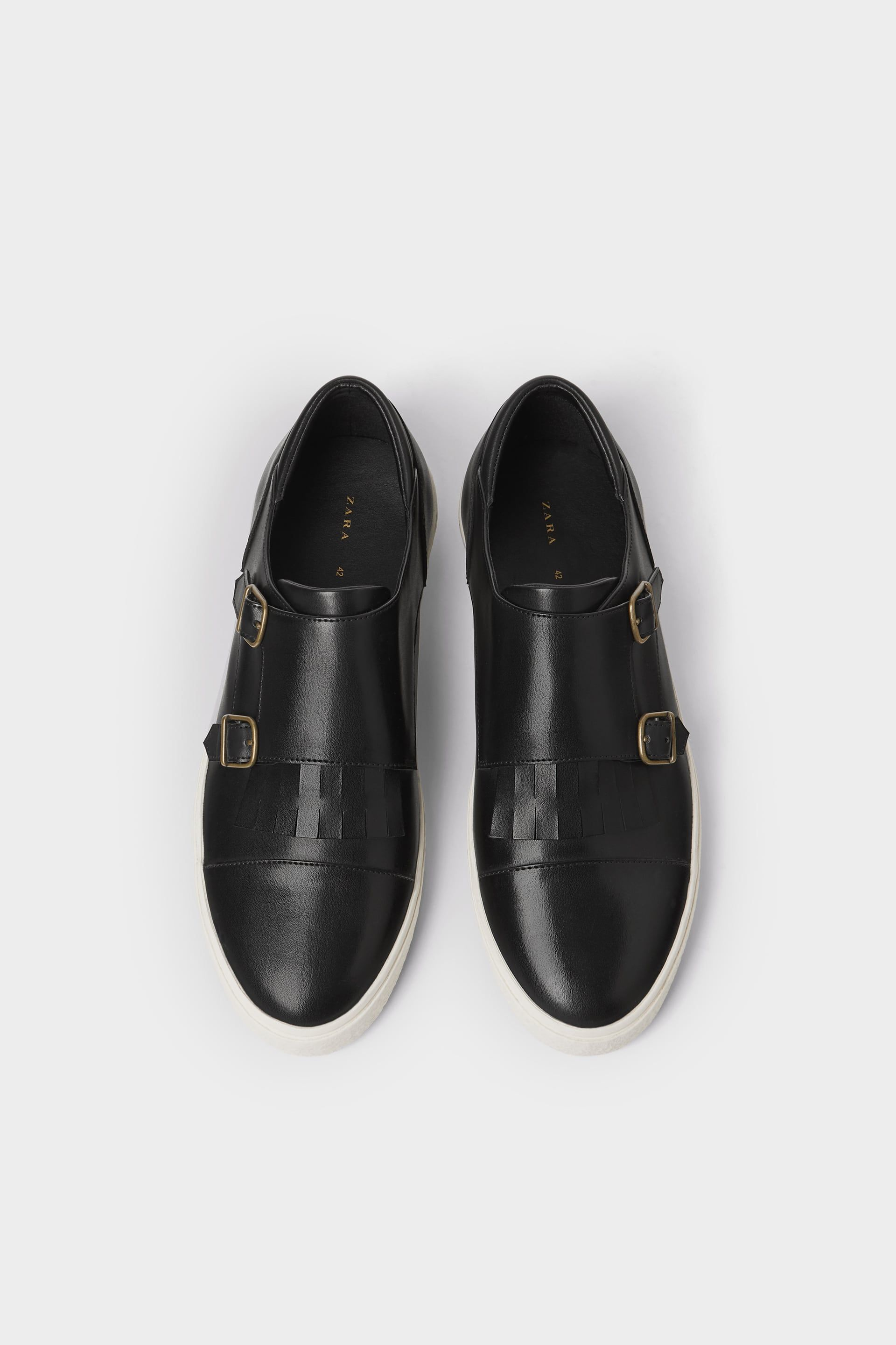 c883ba55591 Black double monk strap sneakers in 2019 | Marcus | Double monk ...