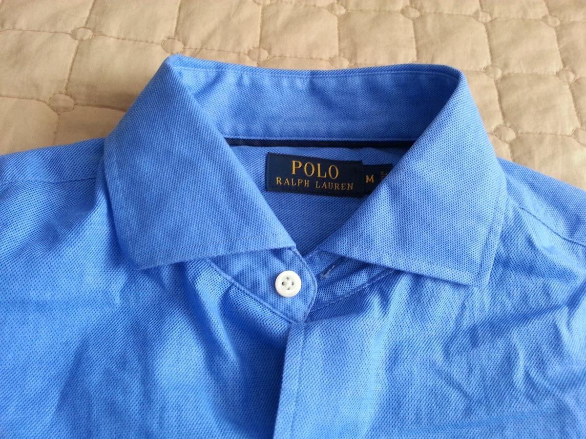 #POLO Ralph Lauren Men's Dress Blue cotton shirt size M spread collar $198 NWT RalphLauren visit our ebay store at  http://stores.ebay.com/esquirestore