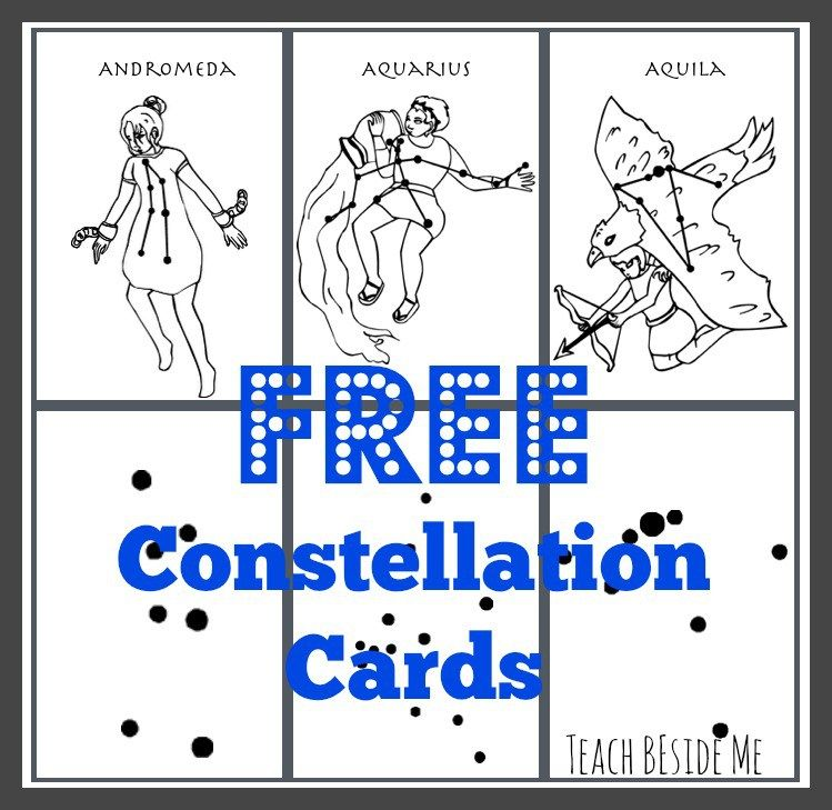 printable constellation cards for kids to learn the star patterns himingeimur constellations. Black Bedroom Furniture Sets. Home Design Ideas