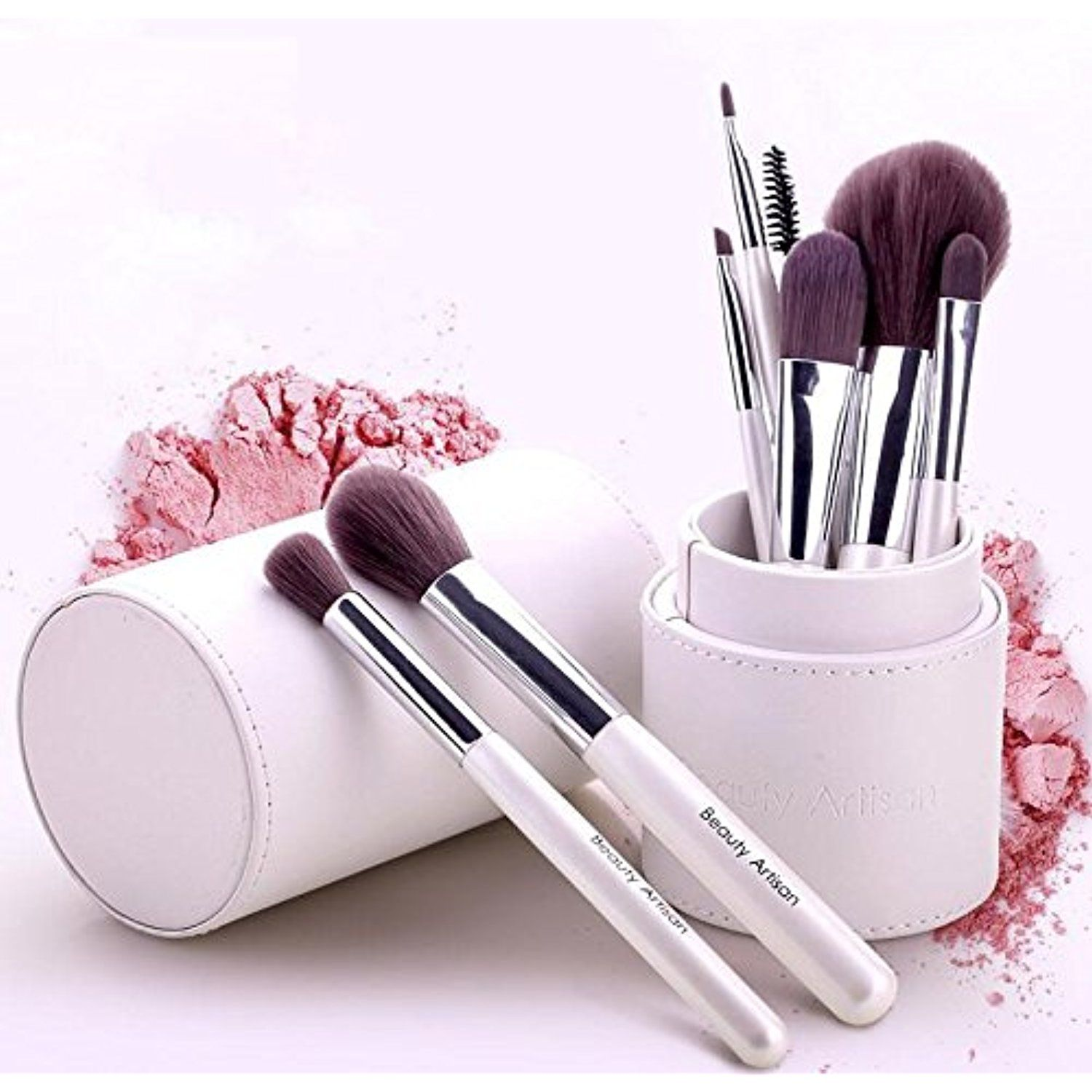 Colorful Soft Makeup Brushes Set Price 16.00 & FREE