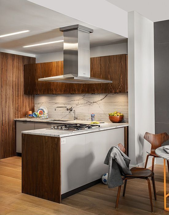 Modern Kitchen - Love the layers of texture! Heart of the home
