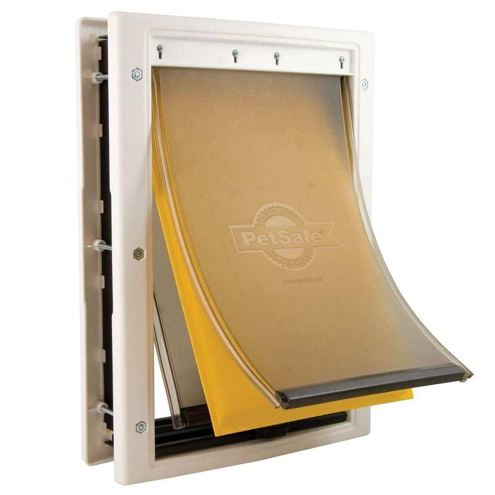 Petsafe 5 1 8 In X 8 1 4 In Small Extreme Weather Pet Door Ppa00