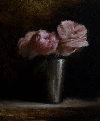 "Daily Paintworks - ""Roses"" - Original Fine Art for Sale - © Neil Carroll"