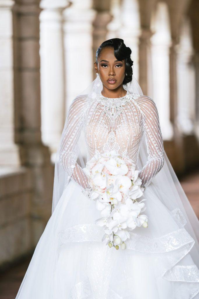 Modern Fairytale: Spanish Monastery Wedding in Miami Beach