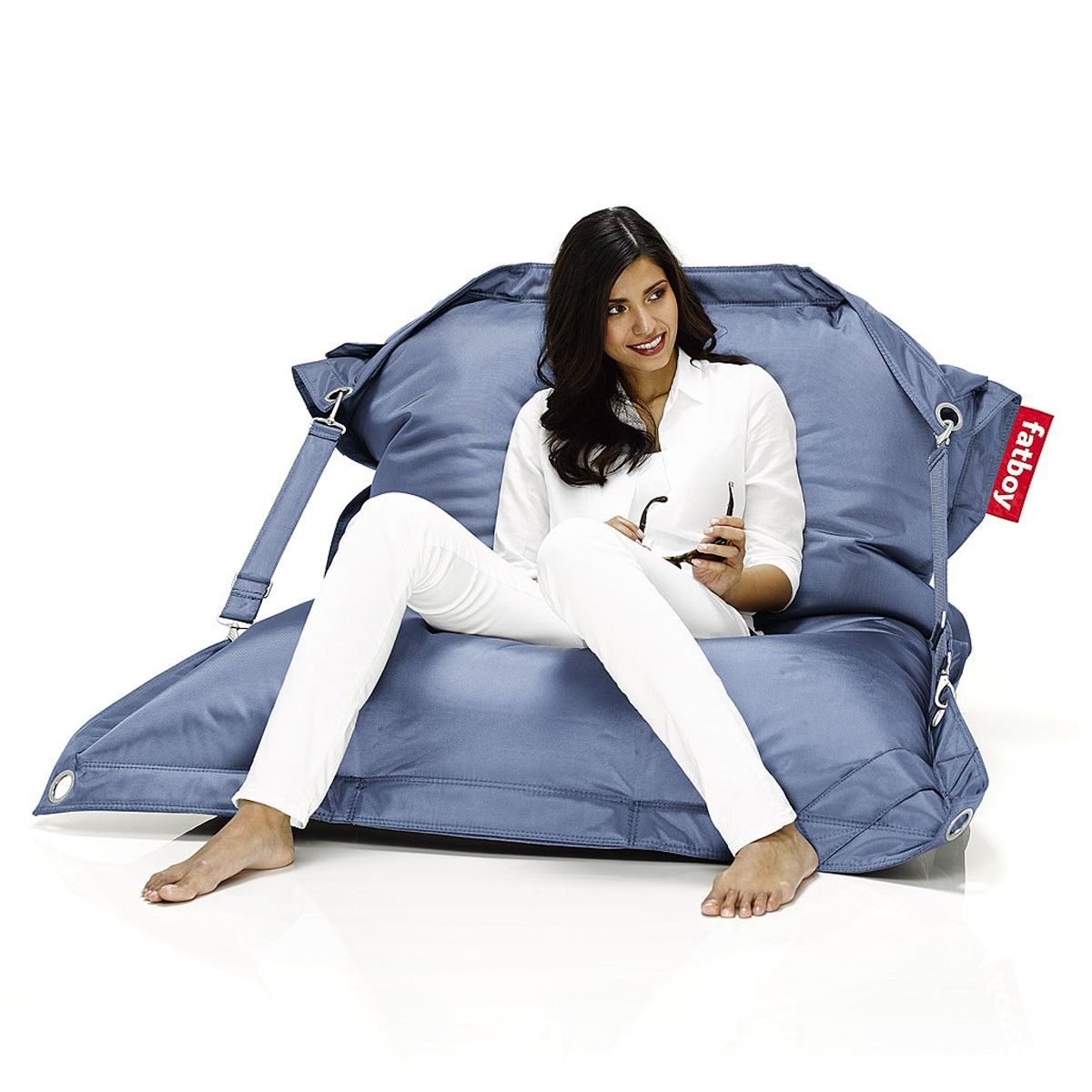 fatboy bean bag buggle up jeans light blue buggle up. Black Bedroom Furniture Sets. Home Design Ideas