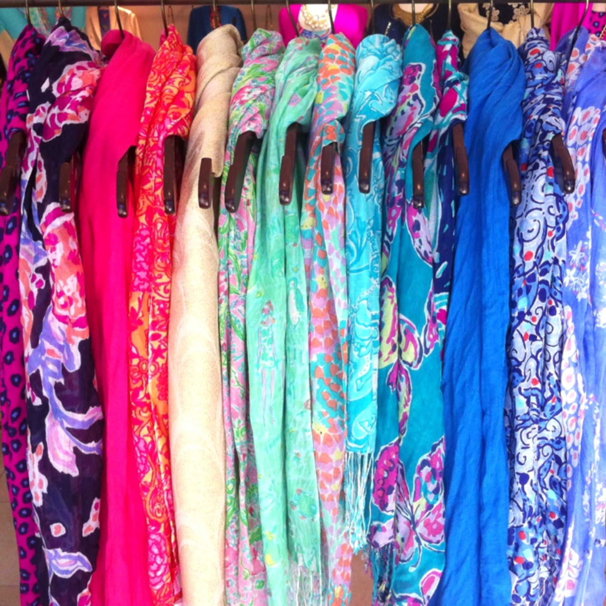 Lilly Pulitzer Fall '13- Murfee Scarves