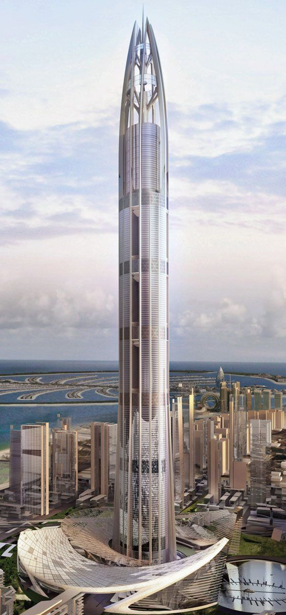 Nakheel Tower Dubai UAE Designed By Woods Bagot Architects 200 Floors Height Arabic Was A Proposed Skyscraper In United Arab