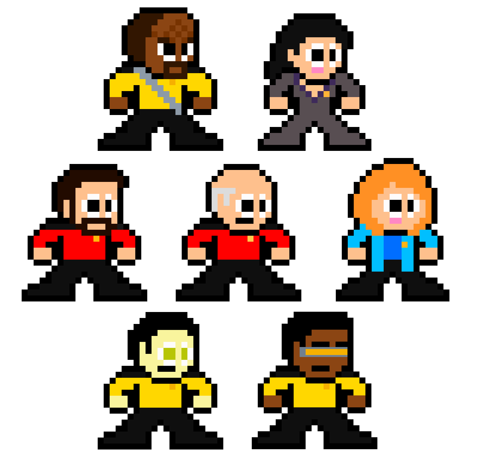 Star Trek: The Next Generation | Pixelated Pop Culture | Pinterest