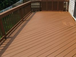Behr deckover chocolote solid color behr weatherproof - Chestnut brown exterior gloss paint ...