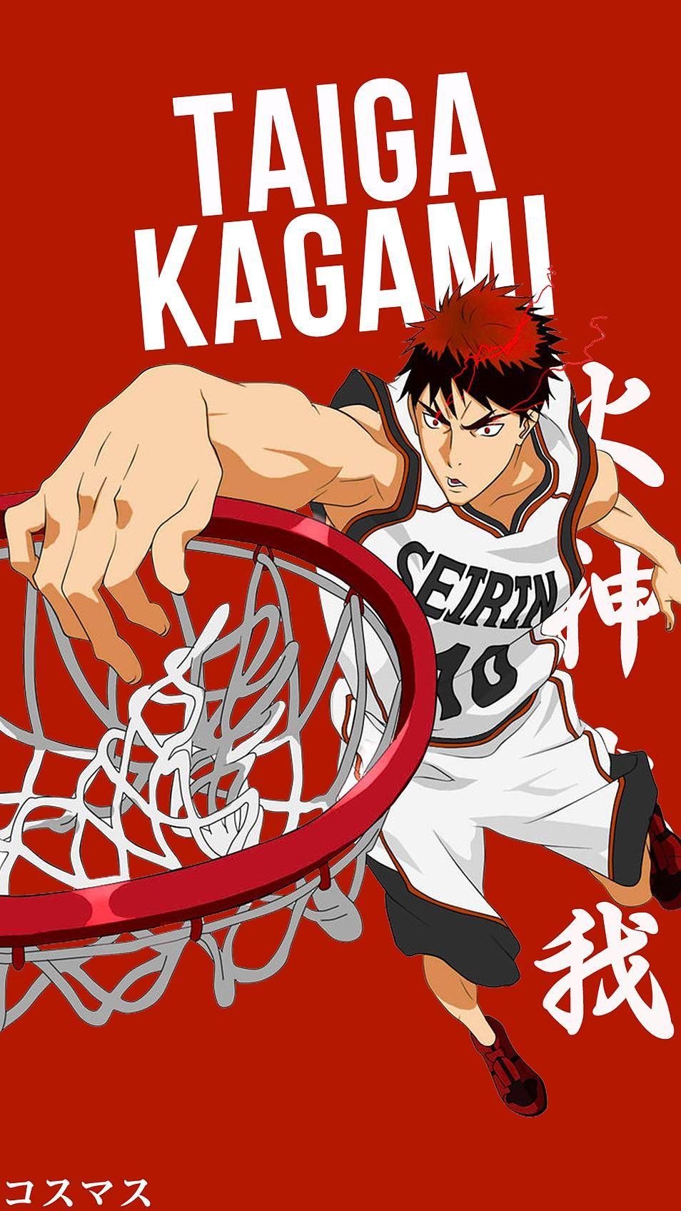Kagami Taiga Personajes De Anime Kuroko Y Fondo De Anime