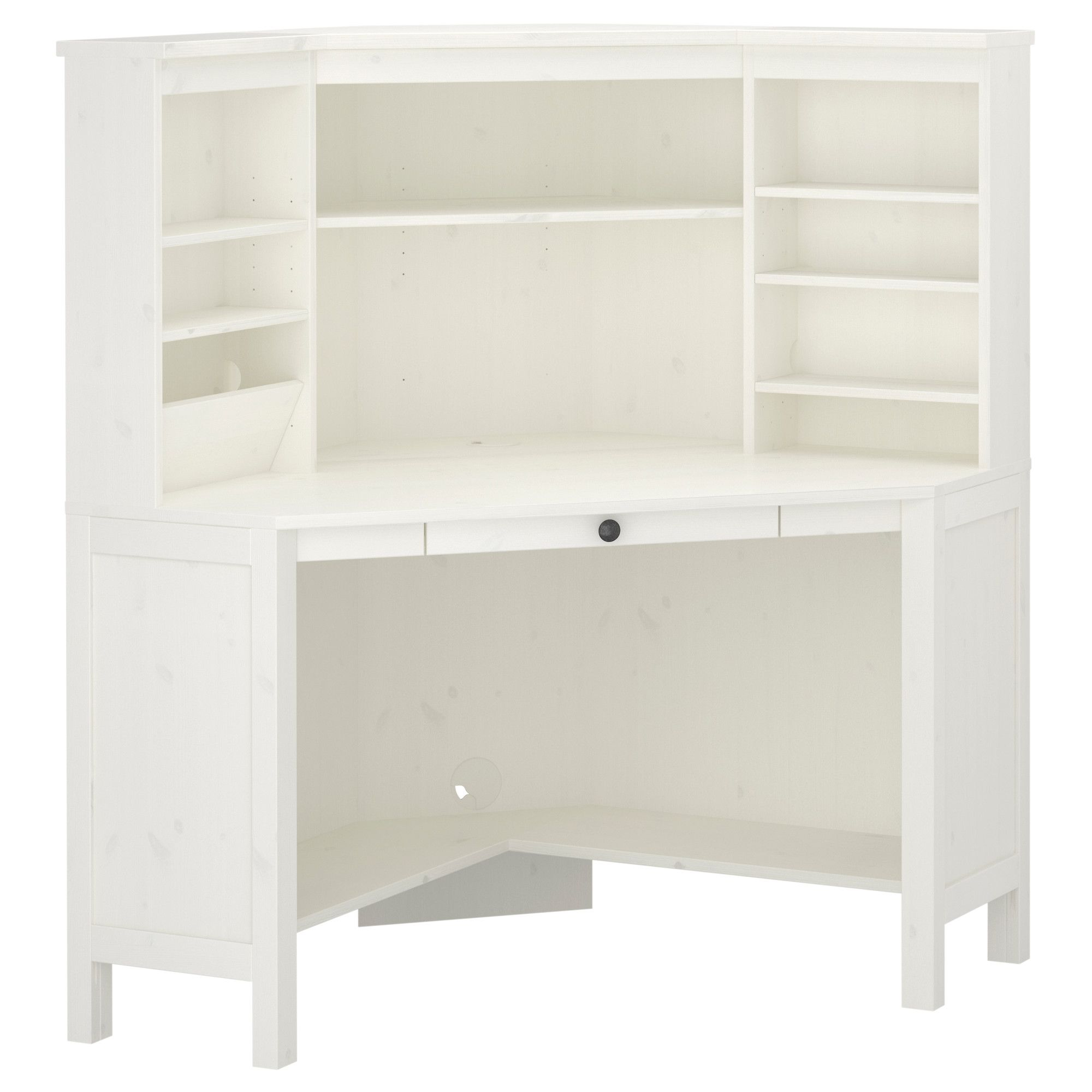 HEMNES Corner workstation - white - IKEA | Home improvement wants ...