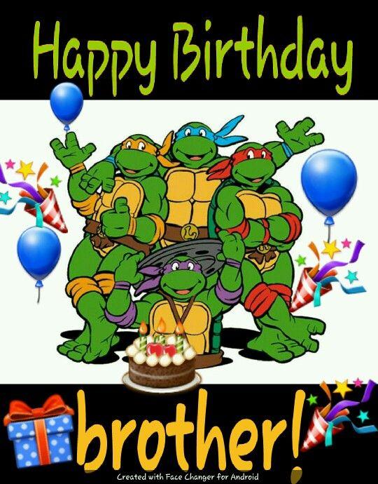 Happy Birthday Ninja Turtles Teenage Mutant Ninja Turtles Party