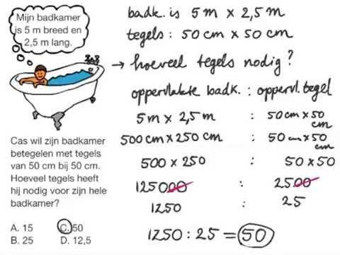 Cito vragen over maten, gewichten, meetkunde en tijd (Filmpje) - Filmpjes kijken op Minipret.nl