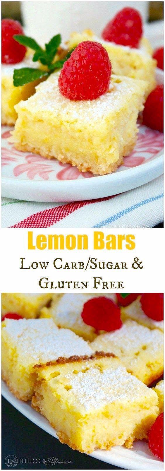 Photo of Lemon Bars Recipe (Gluten Free, Low Carb)