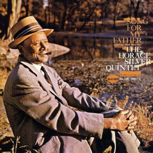 """""""Song for my Father"""" - Horace Silver  Cover design by Reid Miles  Photo by Francis Wolff"""