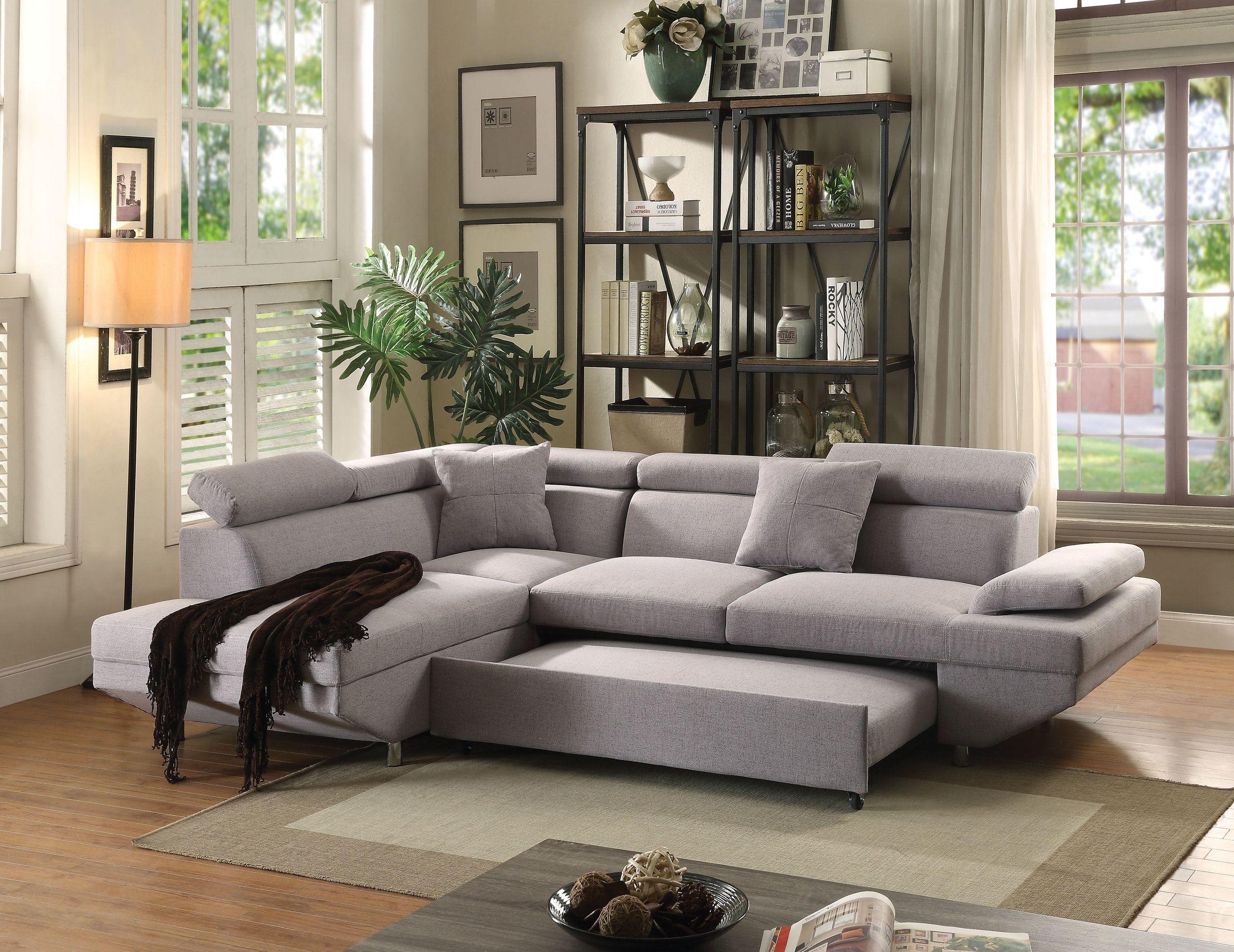 Sectional Sofa W Sleeper Decodesign Furniture Furniture Store Miami Fl Wholesale Prices Sectional Sleeper Sofa Sectional Sofa Grey Sectional Sofa
