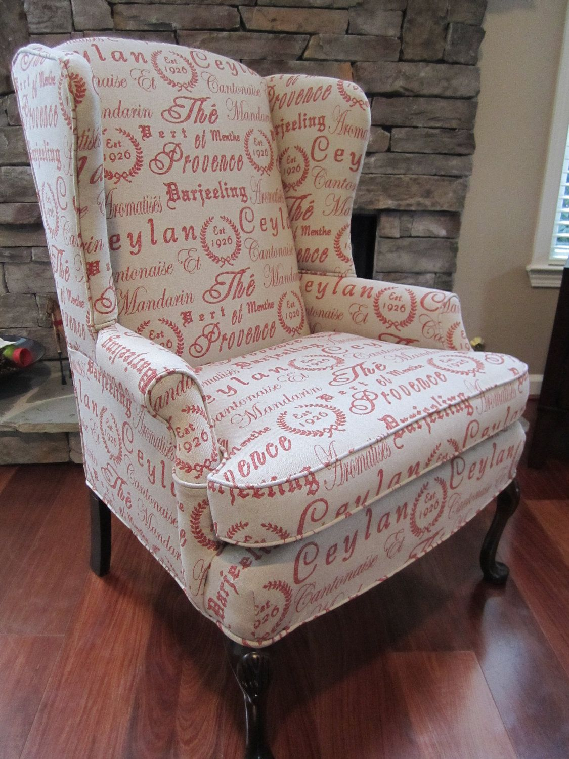Accent Chair Script By Urbanmotifs On Etsy, $550.00