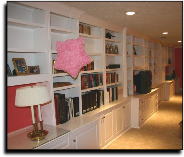 Basement Built In Cabinets
