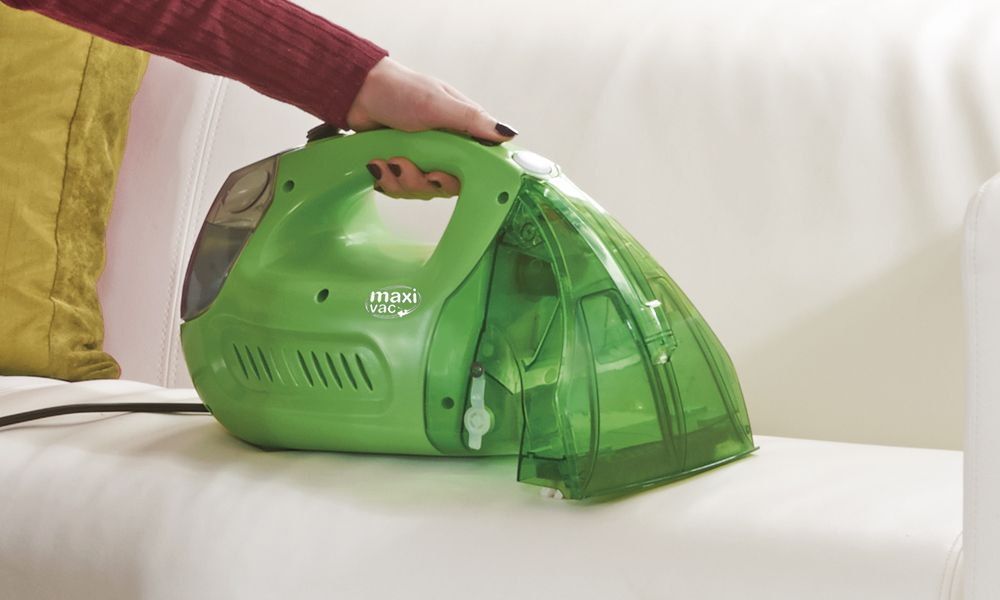 Maxi Vac Handheld Carpet And Upholstery Washer Carpet And Upholstery Cleaner Upholstery Cleaner Cleaning Car Upholstery