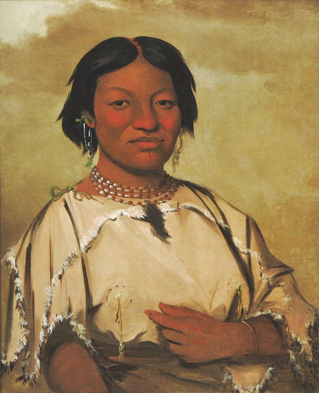 Catlin native american women native american