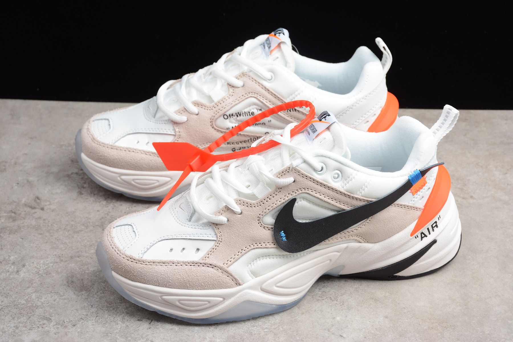 Off-White x Nike M2K Tekno Beige White Men s and Women s Size A03108-058 –  With Sneaker 79934d5854a