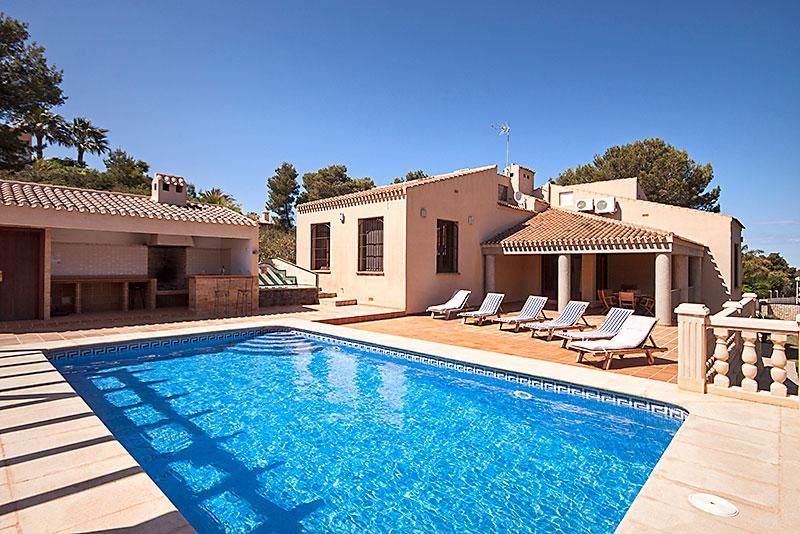 Holiday home Javea Costa Blanca Villa Spain for rent Grey
