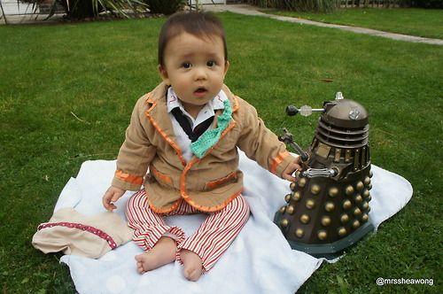 Baby Who & Dalek