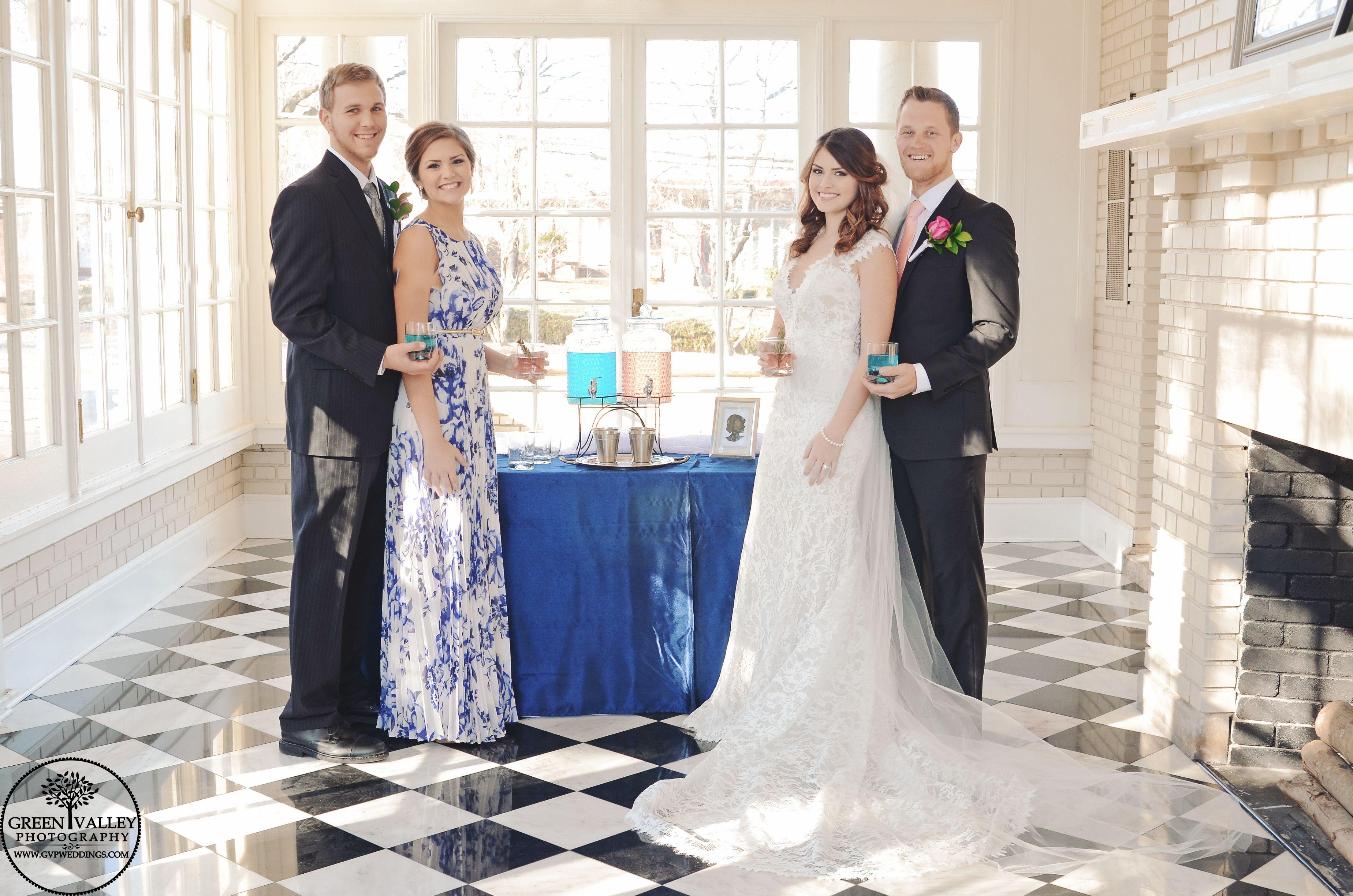 Separk Mansion Wedding Charlotte NC Gastonia