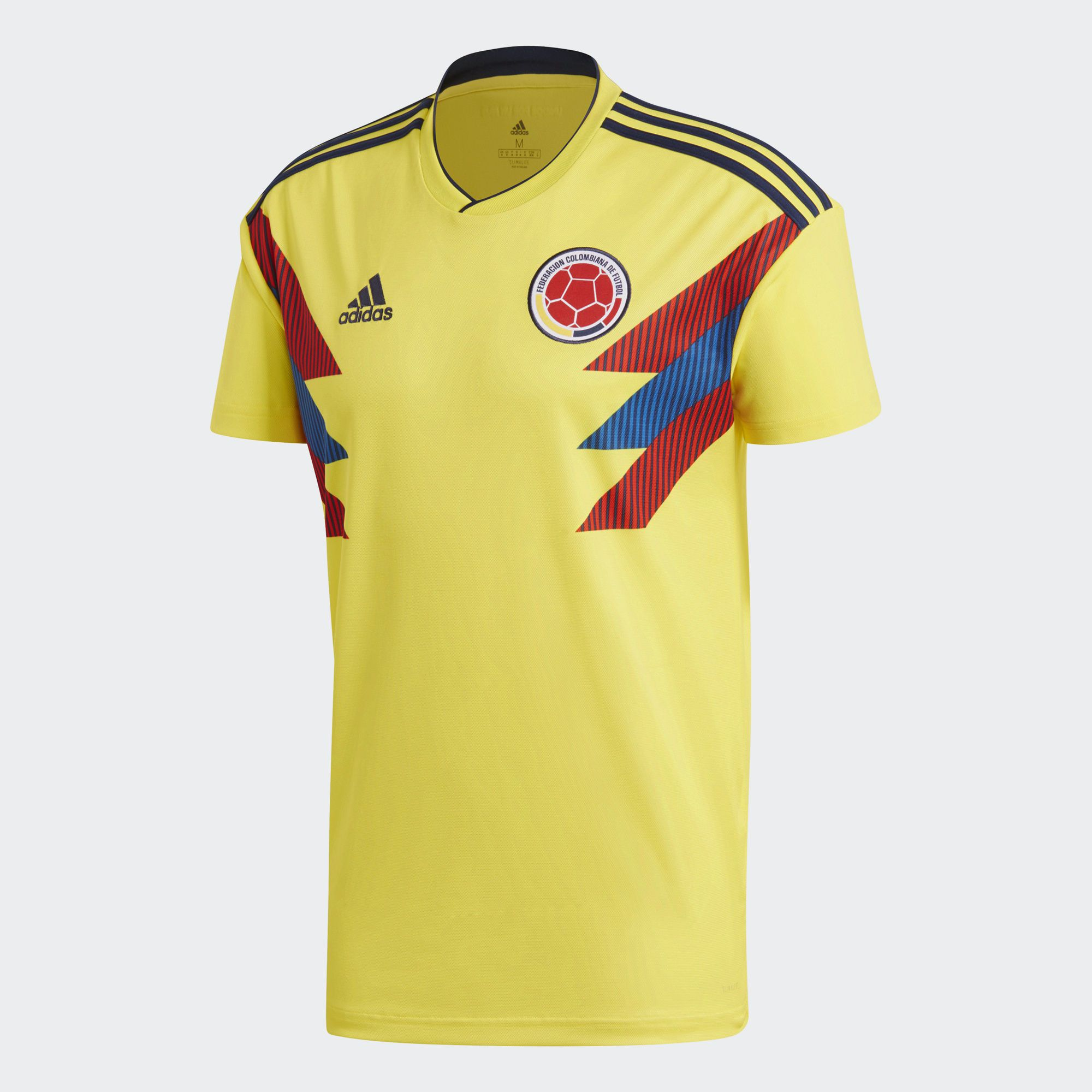 Colombia 2018 World Cup Adidas Home Kit | 17/18 Kits | Football shirt blog