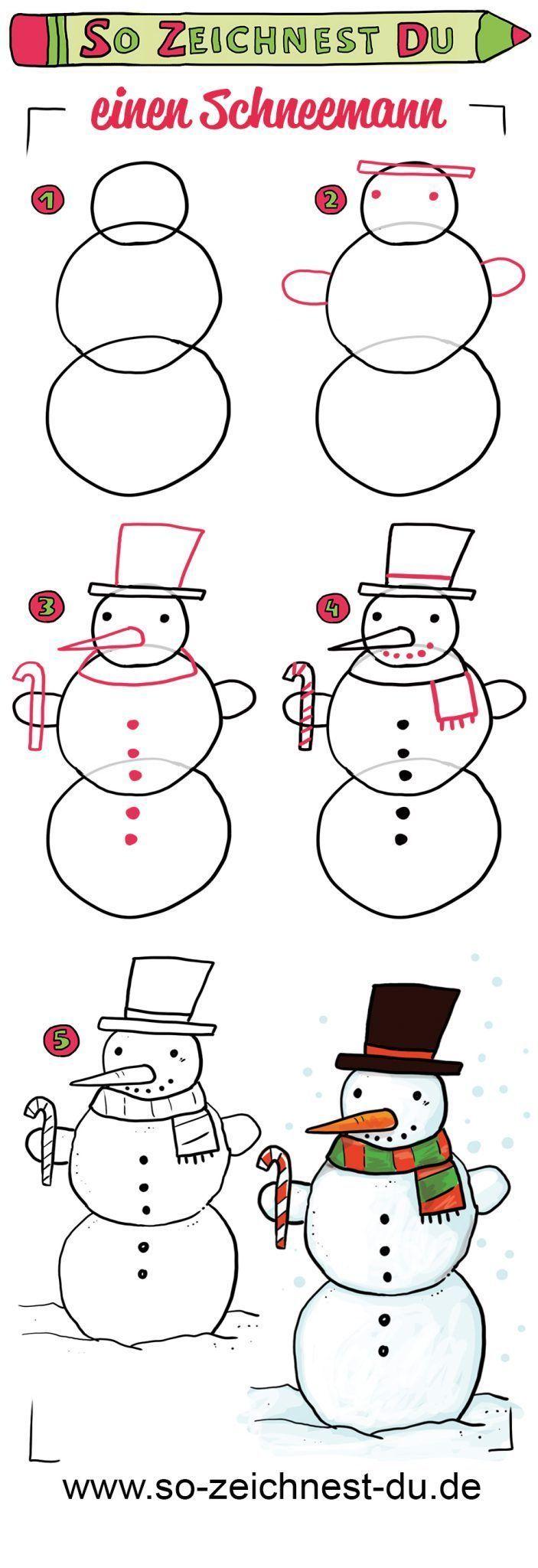 Schneemann Zeichnen Steinebemalenanleitung Falls Bei Dir Gerade Kein Schnee Ist Bei Dir Falls Gerade Ist Ke In 2020 Zeichnen Schneemann Weihnachten Zeichnen