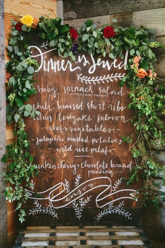 60 Ideas Of Wedding Menu Design, Copy This #weddingmenuideas