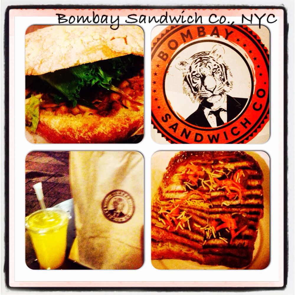 Bombay Sandwich Co Chana Masala Sandwich The Bomb Veganrestaurantreviews Veggie Restaurant Vegan Restaurants Food Reviews