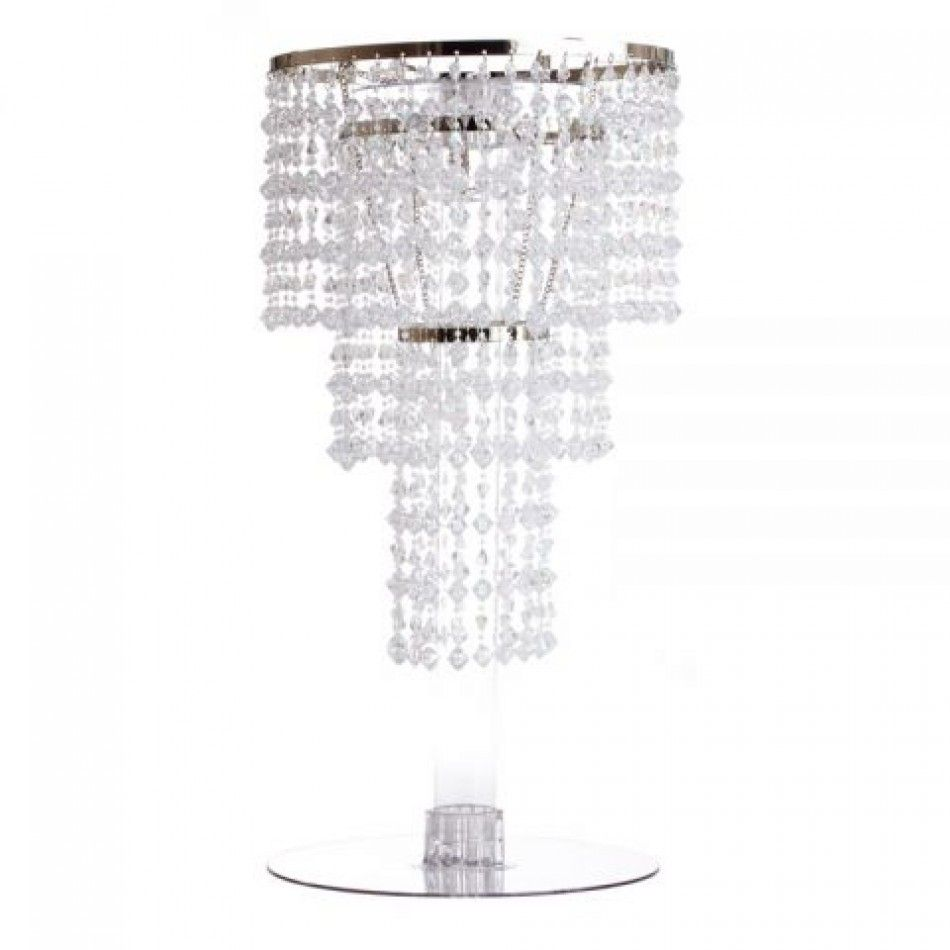 18 Tall Anjali Chandelier Centerpiece Bulk Centerpieces Wholesale Wedding Supplies Discount