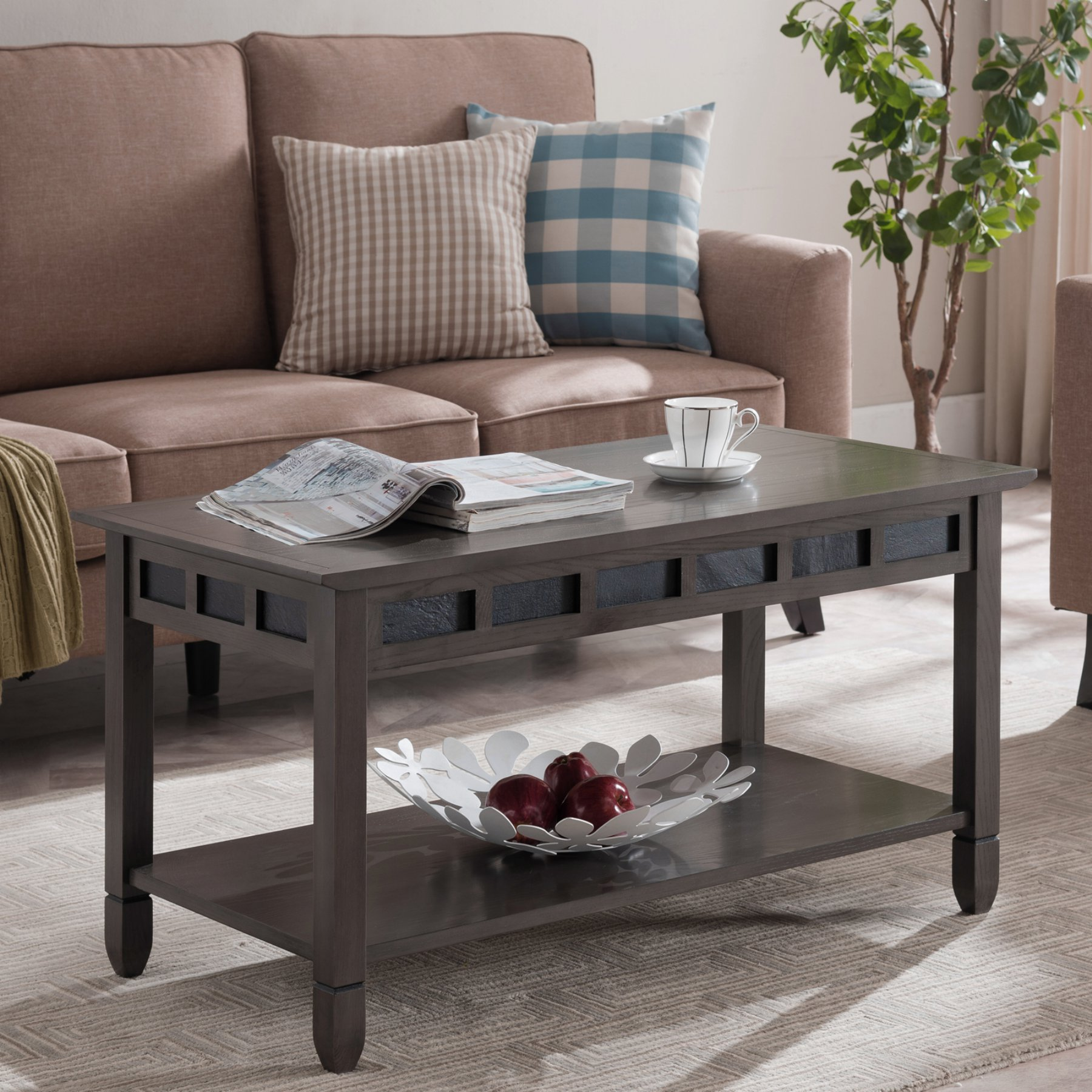 Leick Furniture Coffee Table  10058 Gr